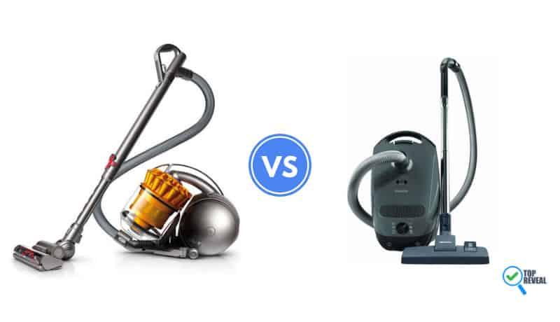 Dyson Ball vs. Miele C1 Canister Vacuum