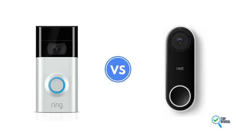 Ring Video Doorbell 2 vs Nest Hello