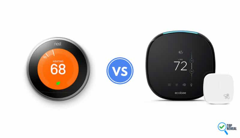 Nest 3 vs Ecobee4 Thermostat