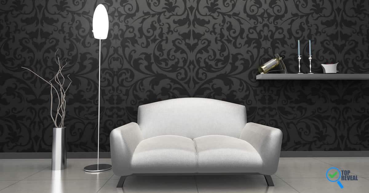 Black wallpaper for walls