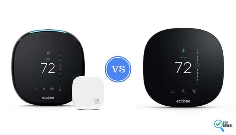 Ecobee4 vs Ecobee 4 Lite Smart Thermostat