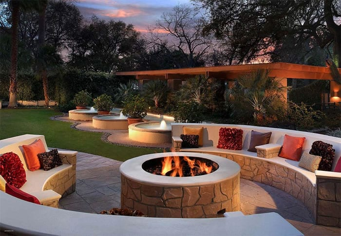 Fitting a Fire Pit