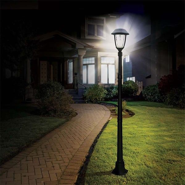 Install Solar Lamp Posts