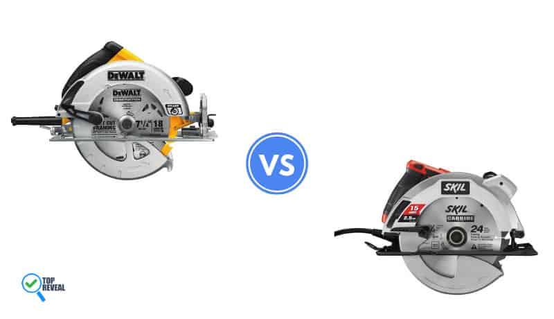 DeWalt DWE575SB vs Skil 5280-01
