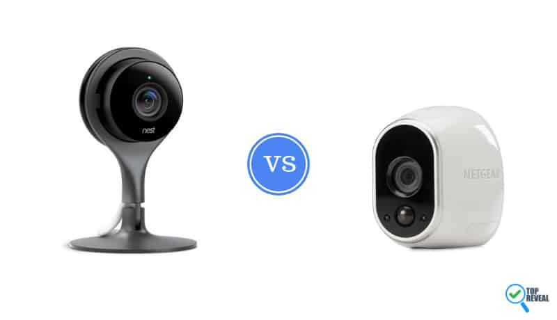 Nest Cam vs Arlo Wireless Camera
