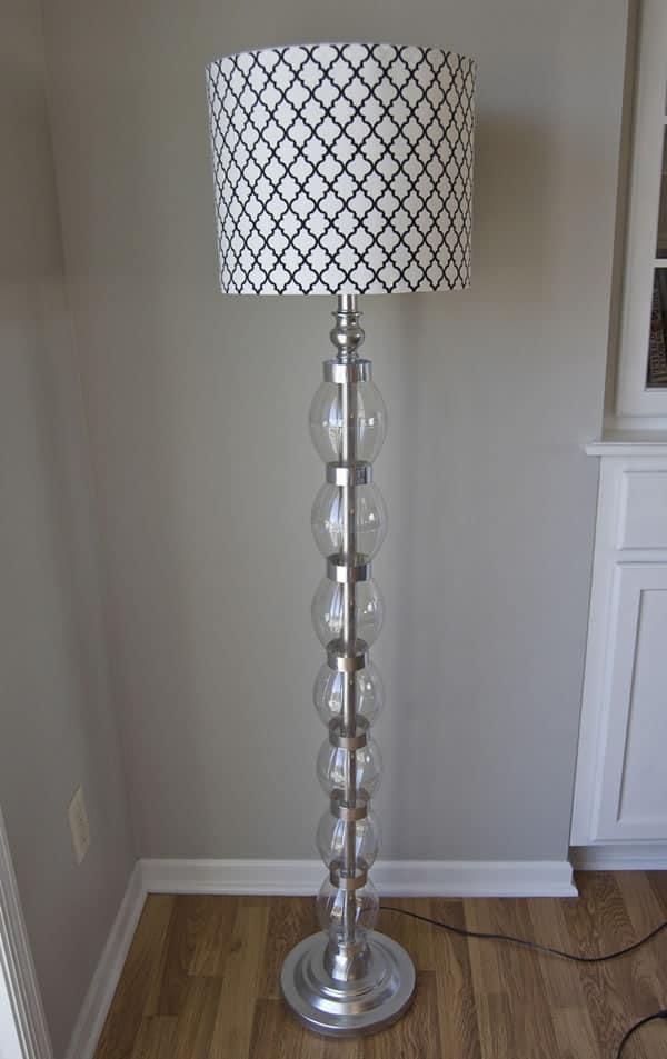 Glammed Lamp After DIY