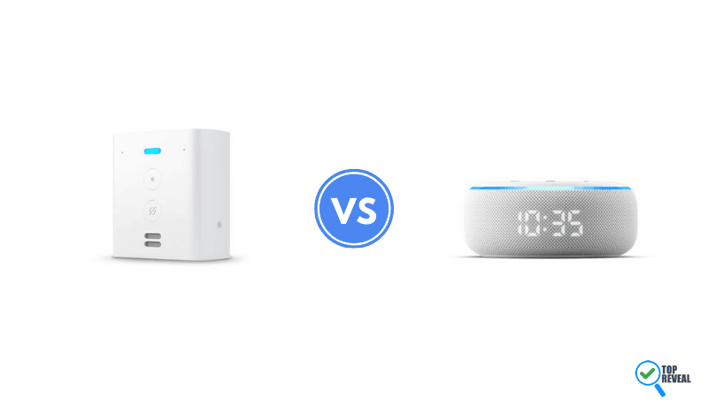Echo Flex vs Echo Dot with Clock