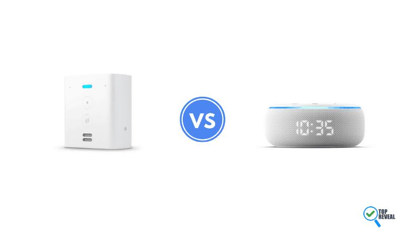 Echo Flex vs Echo Dot with Clock