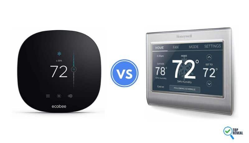 Honeywell RTH9585WF1004 Programmable vs the Ecobee3 Lite