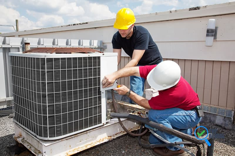 how to contract Air Conditioning and Furnace Repair Contractors in The Woodlands TX