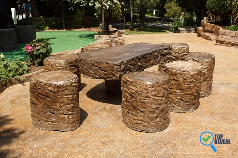 Benefits of Having an Outdoor Table with a Concrete Finish