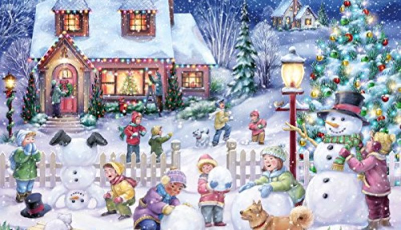 Best Christmas Holiday Jigsaw Puzzles 2018