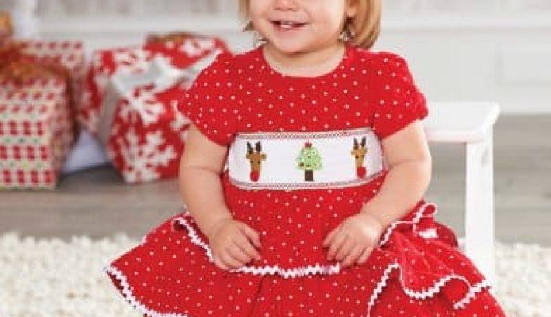 Best Christmas Holiday Smocked Dresses 2018