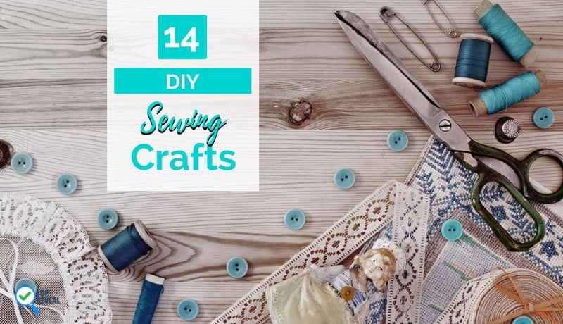 Sew It Up: 14 Cool DIY Hand Sewing Craft Projects for Beginners You Can Sell
