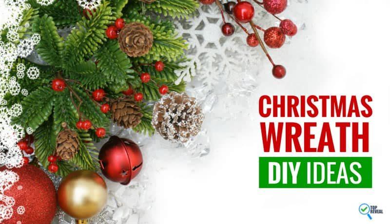 Have a Holly Jolly Christmas with Our Christmas Wreath DIY Ideas