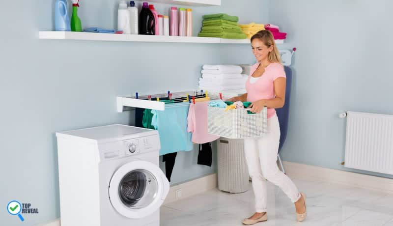 Fresh & Clean DIY Laundry Room Ideas and Projects