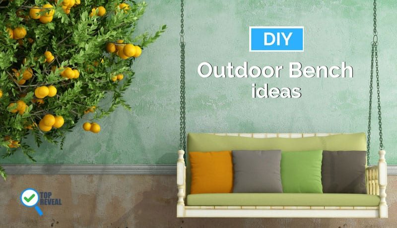 A Dirty Dozen of DIY Outdoor Bench Ideas You Can Build