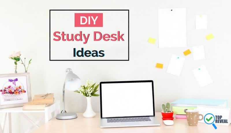 Get It Done With These Great DIY Study Desk and Table Ideas
