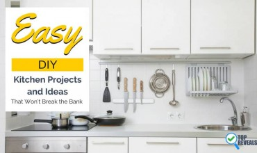 Fun, Easy, DIY Kitchen Projects and Ideas That Won't Break the Bank