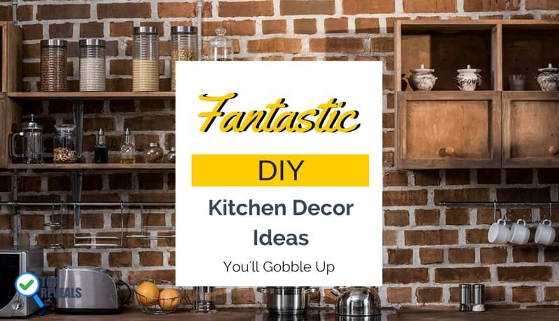 Fantastic DIY Kitchen Decor Project Ideas You'll Gobble Up