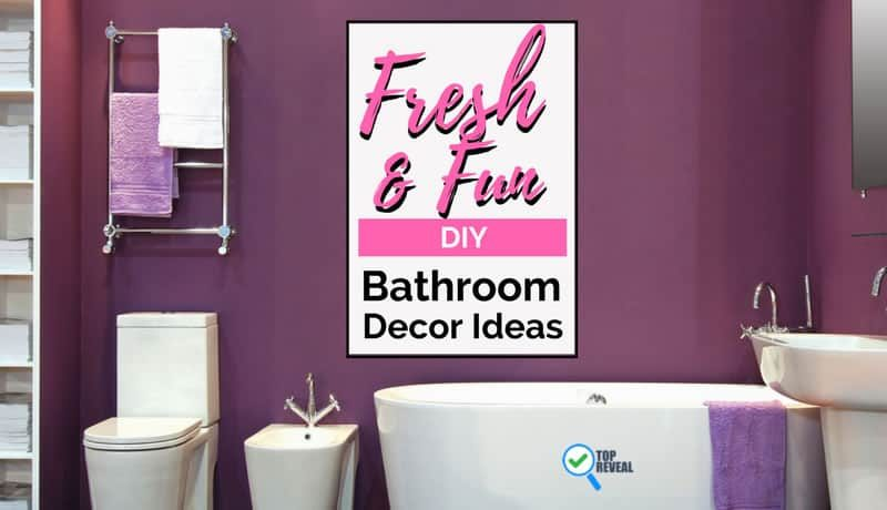 Fresh & Fun DIY Bathroom Decor Ideas