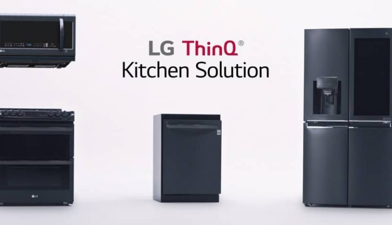 LG Unveiled Smarter AI Appliances at CES 2018: InstaView ThinQ Refrigerator, EasyClean Oven range and QuadWash Dishwasher