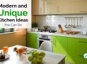 Modern and Unique Kitchen Ideas You Can Do