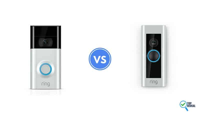 Ring 2 vs Ring Pro Video Doorbell Head-to-Head Comparison Reviews