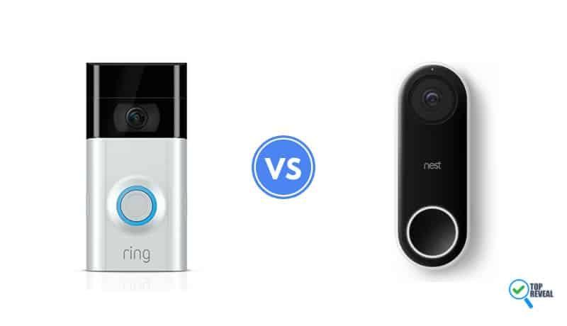 Keep Your Eye on the Door: Ring Video DoorBell 2 vs Nest Hello