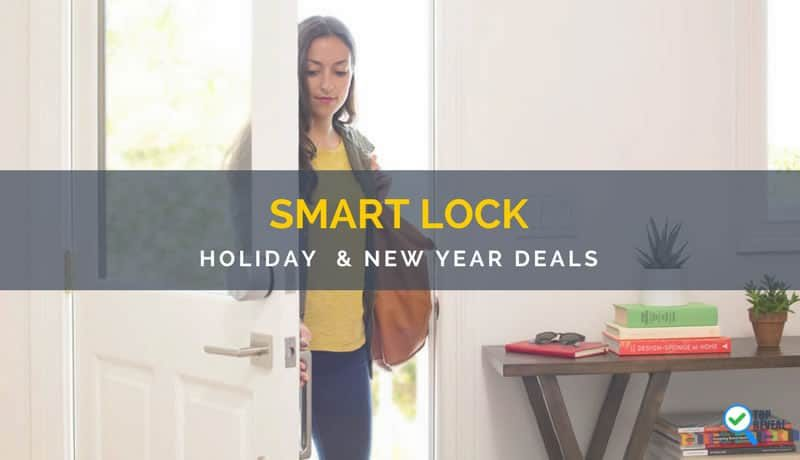 Lock In Some Great Holiday Savings With Our Smart Lock Christmas and New Year Deals