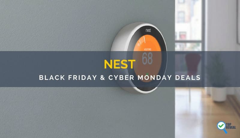 Best Nest Thermostat and Cam Black Friday/Cyber Monday Sale and Deals